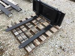 Forklift Forks for Skid Steer