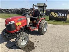 Mahindra Max26XLG 4WD Compact Utility Tractor