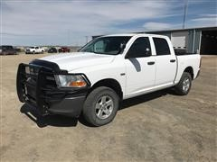 2011 Dodge 1500 4x4 Crew Cab Pickup