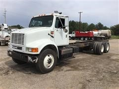 1995 International 8100 T/A Cab & Chassis