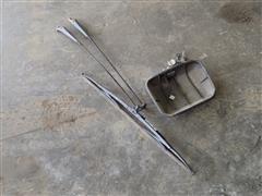 New Holland L130 Wiper Arm & Mirror Back