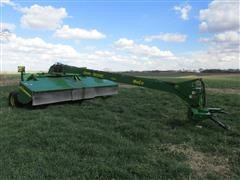 John Deere 956 Disc Mower With Impellar Conditioner