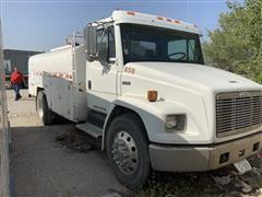 1997 Freightliner FL60 2WD Fuel Tanker Truck