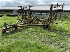 Folded Down Field Cultivator