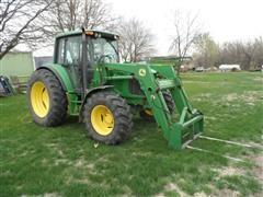 1993 John Deere 6420 Tractor