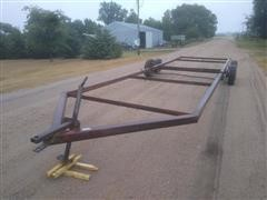 Donahue 828 T/A Flatbed Trailer Frame