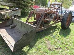 1948 Farmall H 2WD Tractor W/Loader