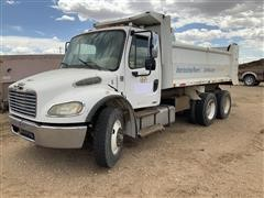 2006 Freightliner M2 106 T/A Dump Truck FOR PARTS ONLY