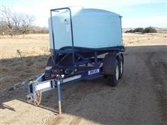 "Duo Lift T/A Trailer W/900 Briggs And 2"" Pump"