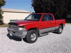 2001 Dodge Ram 1500SLT Laramie Club Cab 4X4 Pickup
