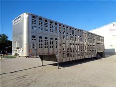 2007 Wilson Silver Star PSDCL-402 53' T/A Livestock Trailer