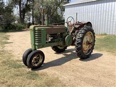 1943 John Deere B 2WD Tractor