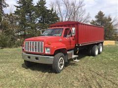 1990 GMC Topkick T/A Grain Truck
