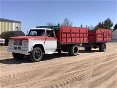 1961 Dodge 500 Grain Truck w/ 1970 Homemade Pup Trailer