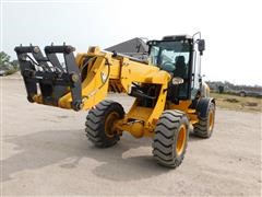 2018 Heracles H580T Telescopic Wheel Loader W/Attachments
