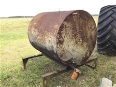 285-Gallon Steel Tank On Stand