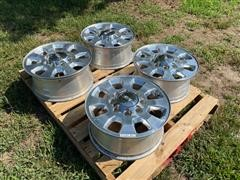 2011 GMC 2500 Aluminum Wheels