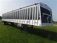2008 Cornhusker Ultra-Lite 43' Hopper T/A Grain Trailer