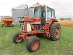 1977 International 986 2WD Tractor W/Bale Mover