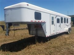 2003 Kiefer Built T/A Livestock Trailer w/Living Quarters