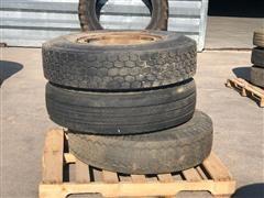 Bridgestone Radial 10.00R20 Tires & Rims