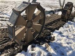 BB Steel Pivot Wheels
