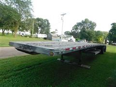 2000 Reitnouer Aluminum T/A Flatbed Trailer