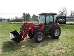 2018 Mahindra 26554CHIL MFWA Compact Utility Tractor W/Loader & Bucket