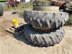 Firestone 18.4-42 Clamp On Duals