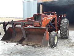 International F856D 2WD Tractor W/Loader