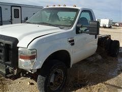 2008 Ford F350 XL Cab & Chassis Pickup