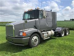 1993 White GMC Aero WIA64T T/A Truck Tractor