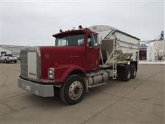 1989 International 9300 T/A Fertilizer Tender Truck