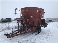 Schuler 4910M Vertical Mixer Feed Wagon