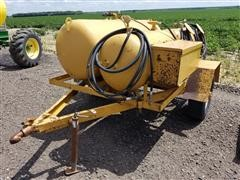 Shop Built Pull Type Oil Vac Trailer