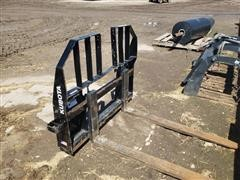 Kubota PFL4548 4' Skid Steer Pallet Forks