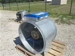 "2012 Shivvers 121A 28"" Turbo Centrifugal Bin Fan"