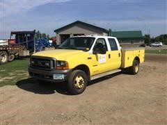 1999 Ford F450XL Super Duty Crew Cab Service Truck