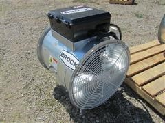 "2015 Brock AXH24-LP 24"" Axial Bin Heater"