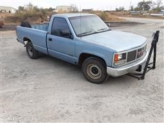 1991 GMC 1500 SL Sierra Regular Cab Pickup