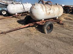 Eveready 500 Anhydrous Ammonia Tank W/Running Gear