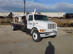 1996 International 4700 Boom Truck