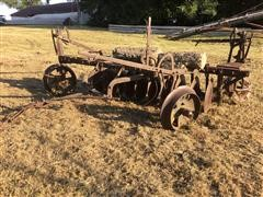 Case Grand Detour Steel-Wheeled Disc Plow