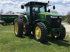 2012 John Deere 7215R MFWD Tractor