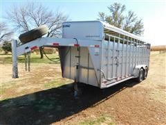 2007 Travalong Advantage T/A Livestock Trailer