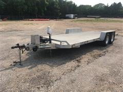 2006 Aluma 20' T/A Aluminum Car Trailer