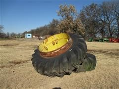 18.4-38 Traction Tires & Rims