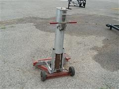 Gray 100 Portamatic Air Powered Pneumatic End Lift Jack