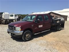 2004 Ford F350XLT Super Duty 4x4 Crew Cab Pickup