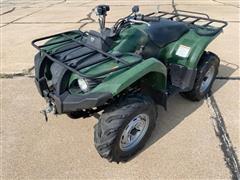 2009 Yamaha Grizzly 450 4x4 ATV